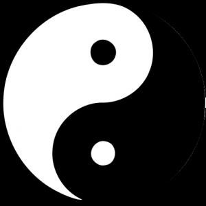 Yin Yang - symbol för motsatser