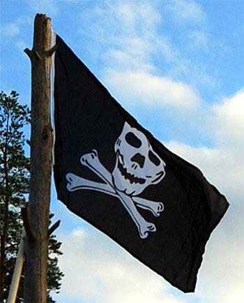 Piratflaggan